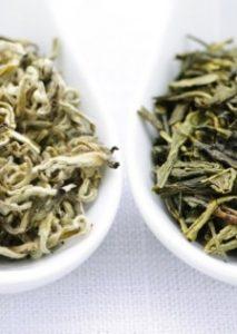 Ceai alb vs. ceai verde